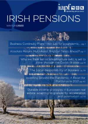 Irish Pension Magazine Winter 2020